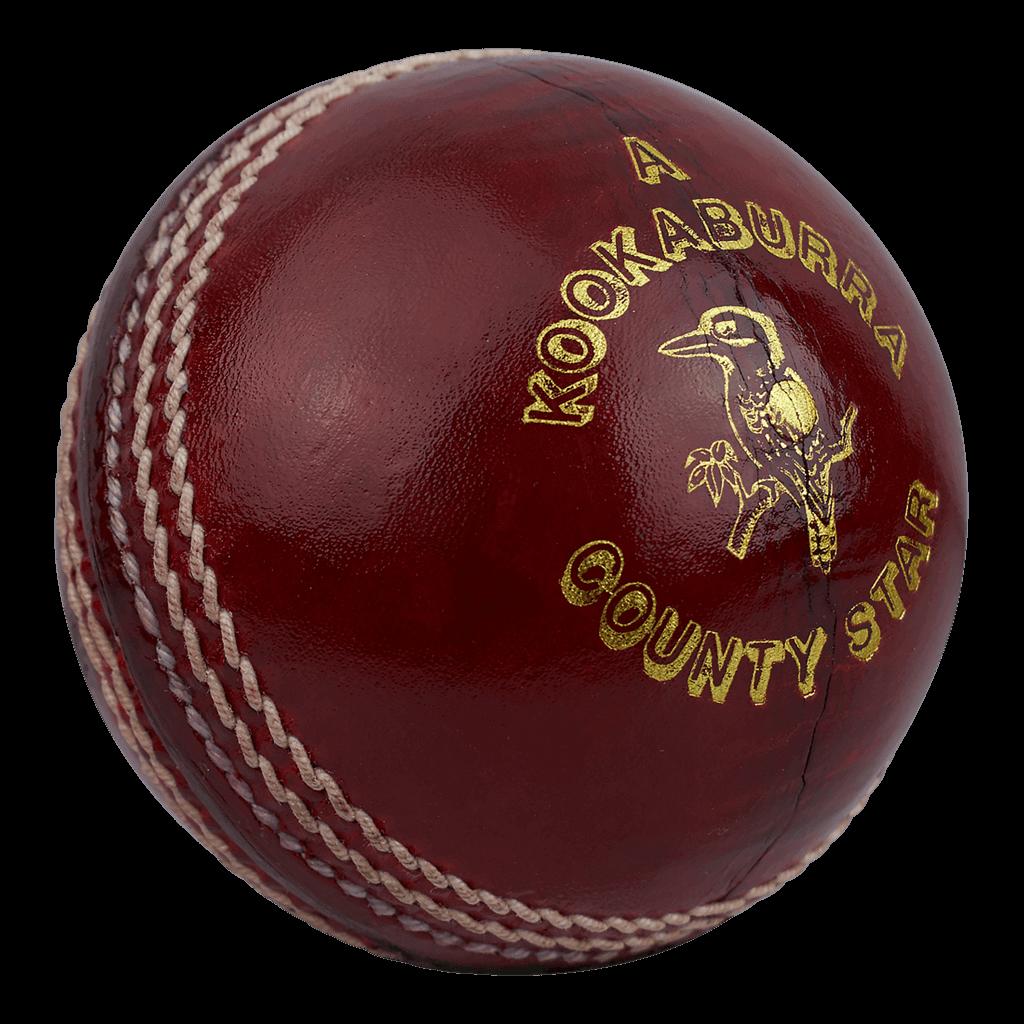 Bola vermelha de críquete