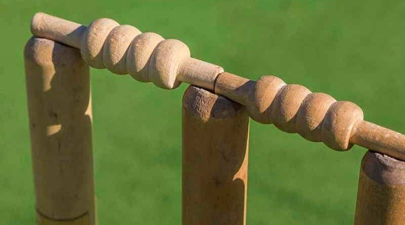 Três estacas no críquete