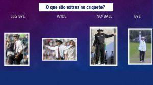 O que são extras no críquete