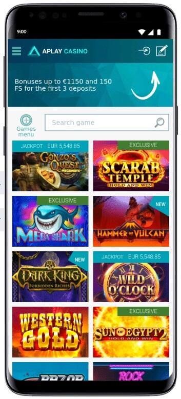 App do Aplay para Android e iOS