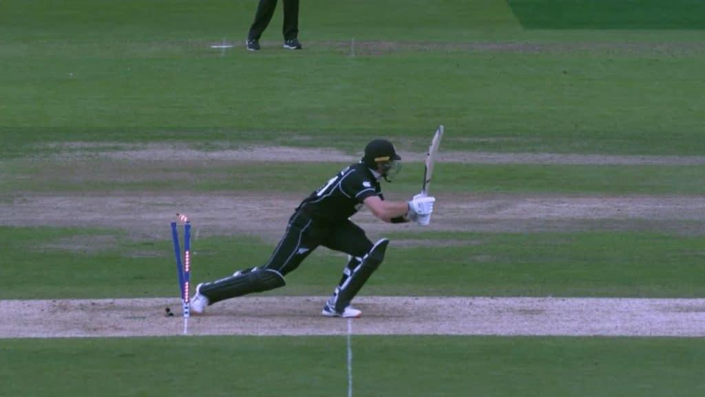 Eliminação por acertar o wicket