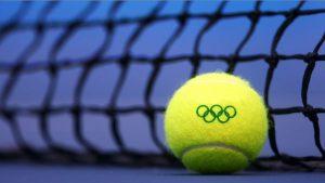 O tênis está nas olimpíadas
