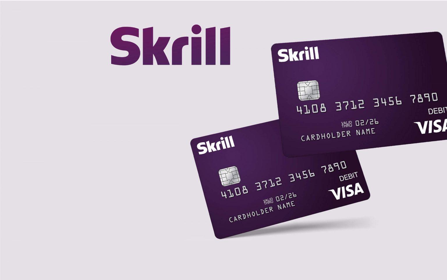 Carteira para pagamentos online Skrill