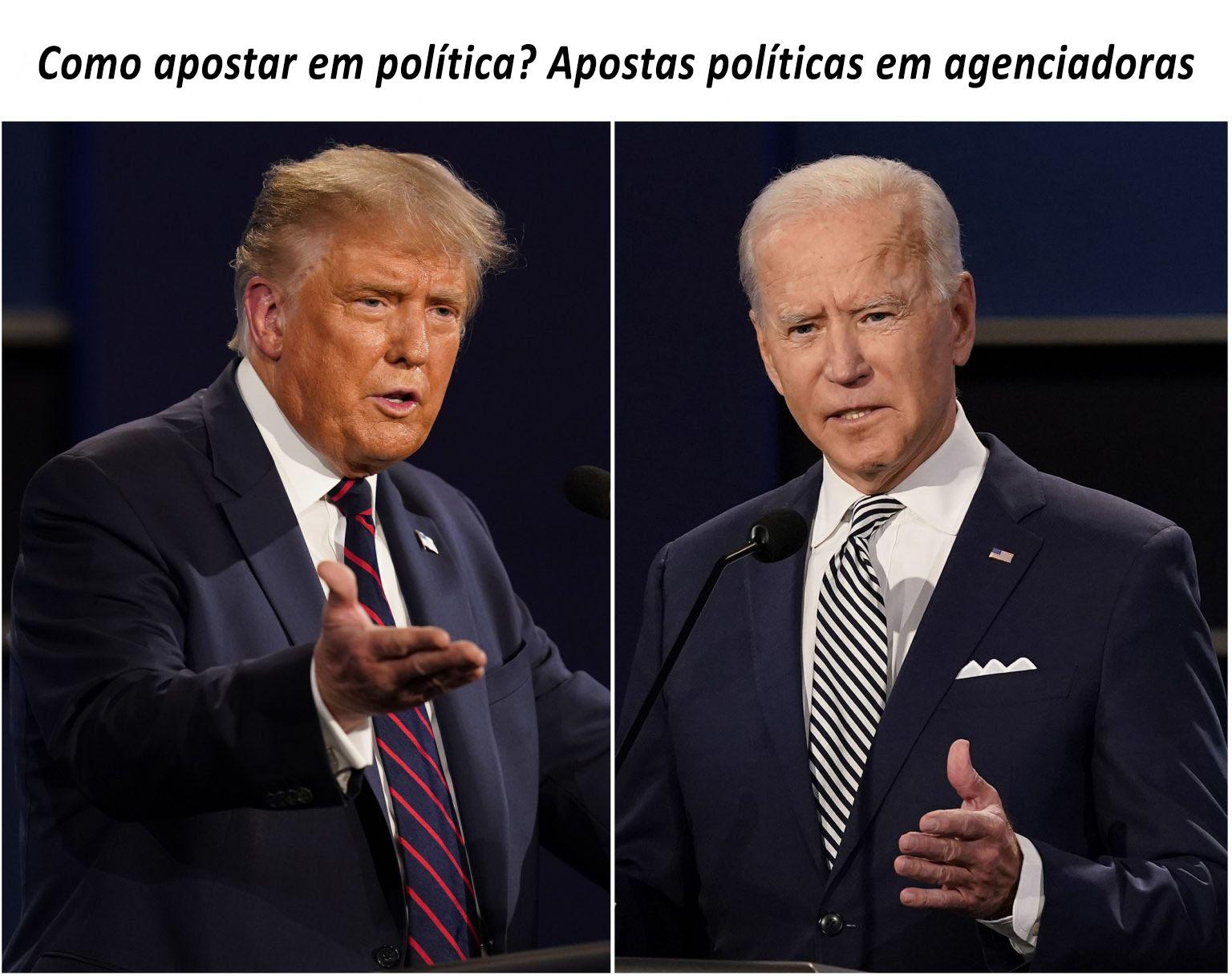 Apostar em política