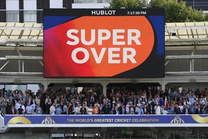 Super over no críquete