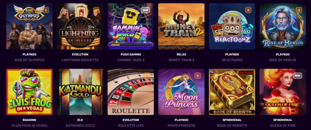 Dux casino jogos