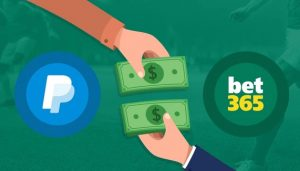Depositar com PayPal no Bet365